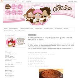 Gâteaux moelleux au sirop d'agave (sans gluten, sans lait, sans sucre de canne)