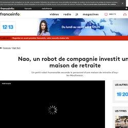 Nao, un robot de compagnie investit une maison de retraite