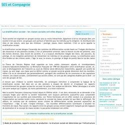 SES et Compagnie - La stratification sociale : les classes sociales ont-elles disparu ?