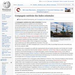 Compagnie suédoise des Indes orientales