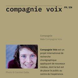 Compagnie Voix FR - Compagnie Voix