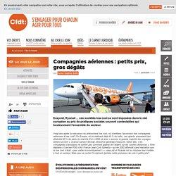 Compagnies aériennes: petits prix, gros dégâts