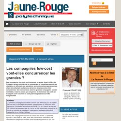 Les compagnies low-cost vont-elles concurrencer les grandes