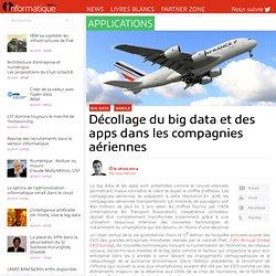 Décollage du big data et des apps dans les compagnies aériennes