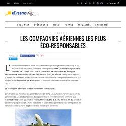 Les compagnies aériennes les plus éco-responsables - Le blog de voyage - eDreams
