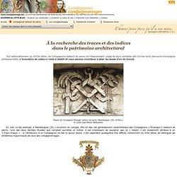 A la recherche des traces et des indices dans le patrimoine architectural