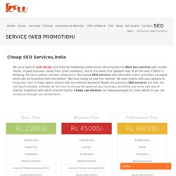 Best SEO Companay India, Cheap SEO Services Packages