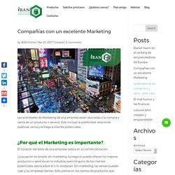 Compañías con un excelente Marketing - Préstamos iBAN