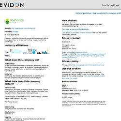 EVIDON - DoubleClick