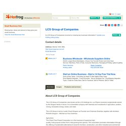 LCS Group of Companies Business