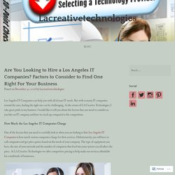 Los Angeles IT Companies