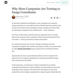 Why More Companies Are Turning to Image Consultants