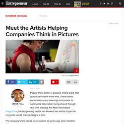 Meet the Artists Helping Companies Think in Pictures