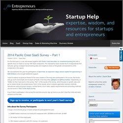 2014 SaaS Survey (Part 1) - A Survey of key metrics in over 300 SaaS companies