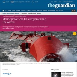 Marine power: can UK companies rule the waves?