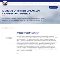 British Export Companies in Malaysia and UK - BMCC