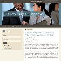 Why Do Companies Choose Paid Yellow Pages Marketing For their Digital Ads?