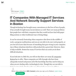 IT Company Boston