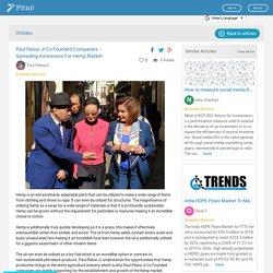 Paul Pelosi Jr Co Founded Companies – Spreading Awareness For Hemp Market