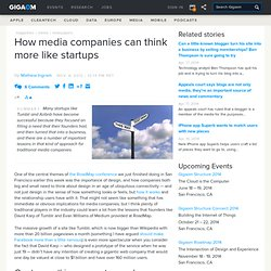 How media companies can think more like startups