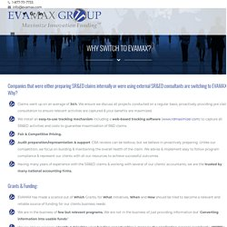 Why Companies are Switching to EVAMAX Grant and Funding Consulting?