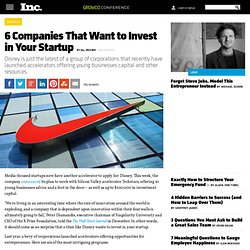 6 Companies That Want to Invest in Your Startup