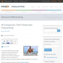 10 Companies That Totally Nail Copywriting