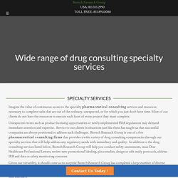 Pharmaceutical Research CompaniesBiotech Research Group