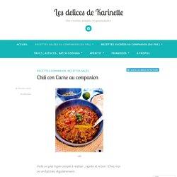Chili con Carne au companion – Les delices de Karinette