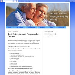 Companion Radio: Best Entertainment Programs for Seniors
