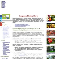 Companion Planting Charts: Complete List