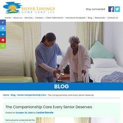 The Companionship Care Every Senior Deserves