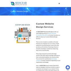 Custom Web Design Company - Building Unique Websites SEOCZAR