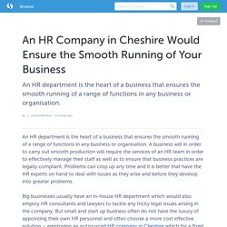 HR Company Cheshire