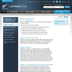 Companies Office The Official Site