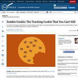 Zombie Cookie: The Tracking Cookie That You Can't Kill