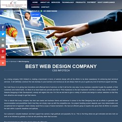 Website Development Company in India - CSS Infotech