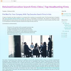 Top Headhunting Firms: Find Best For Your Company With Top Executive Search Firms In Asia