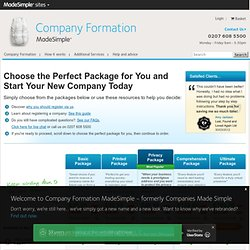 Company Formation Name Search