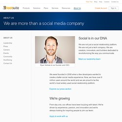 Company Profile - HootSuite Social Media Management