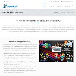 Bulk SMS Company In Noida