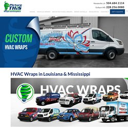 Get Your Hvac Van Wrapped on Picturethisad