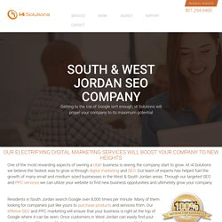 South & West Jordan SEO Company - PPC Search Engine Marketing Service