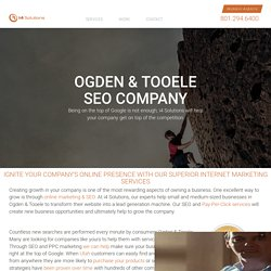 Ogden & Tooele SEO Company - Search Engine Marketing Services
