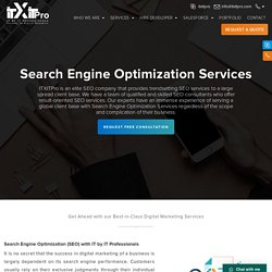 Top Search Engine Optimization Company In Rajasthan, Jaipur - IT BY IT Professionals