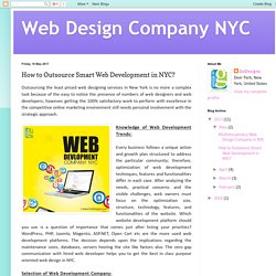 Web Design Company NYC: How to Outsource Smart Web Development in NYC?