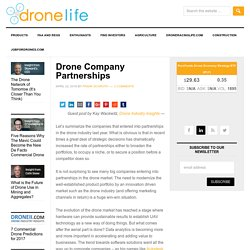 Drone Company Partnerships - DRONELIFE