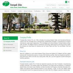 Company Profile - Transpek-Silox