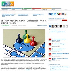 Is Your Company Ready For Gamification? Here's How To Find Out