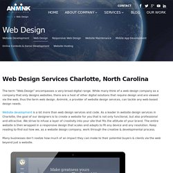 Website Design Services in Charlotte, NC